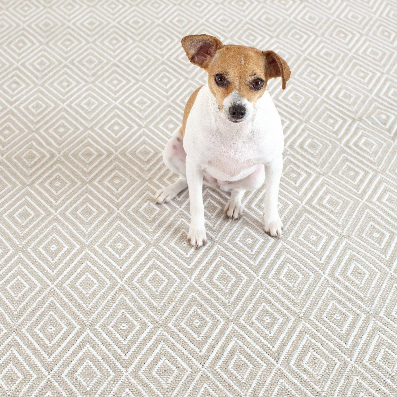 {Beautifullly Durable} Dash & Albert Indoor/Outdoor Diamond Platinum White Rug #laylagrayce #dashandalbert #rugs