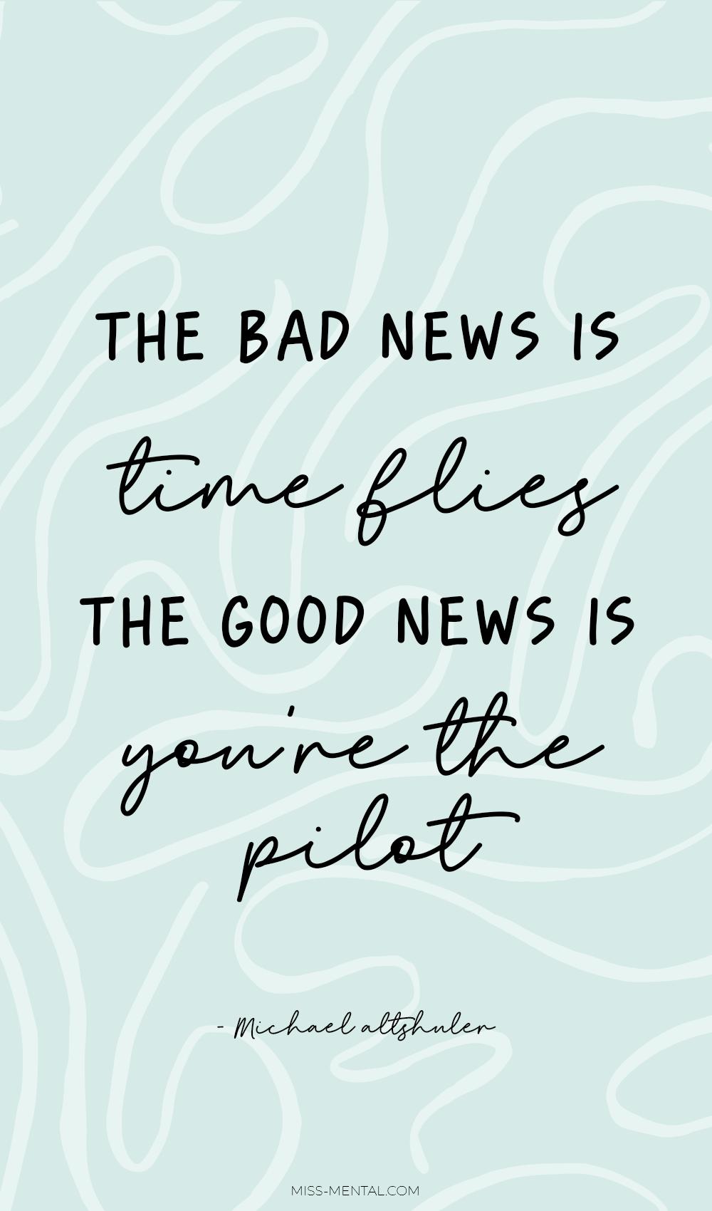 Bad news quotes health motivation