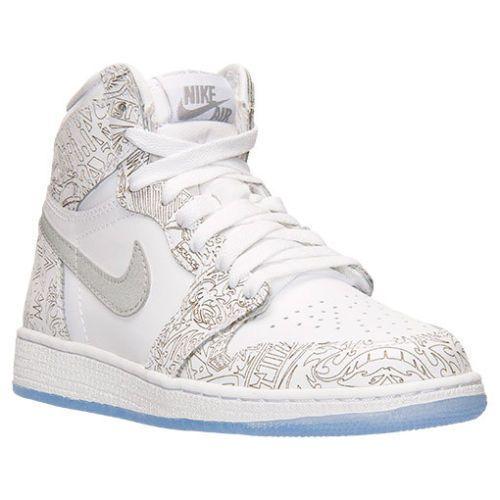 Nike Air Jordan GS Retro 1 HIGH OG LASER 705290-100 SNEAKERS SIZE 7 #
