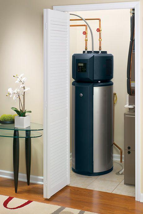 Ge Hybrid Water Heater The 1st Energy Star Rated Water Heater Ever Hybrid Water Heaters Water Heater Repair Heat Pump Water Heater