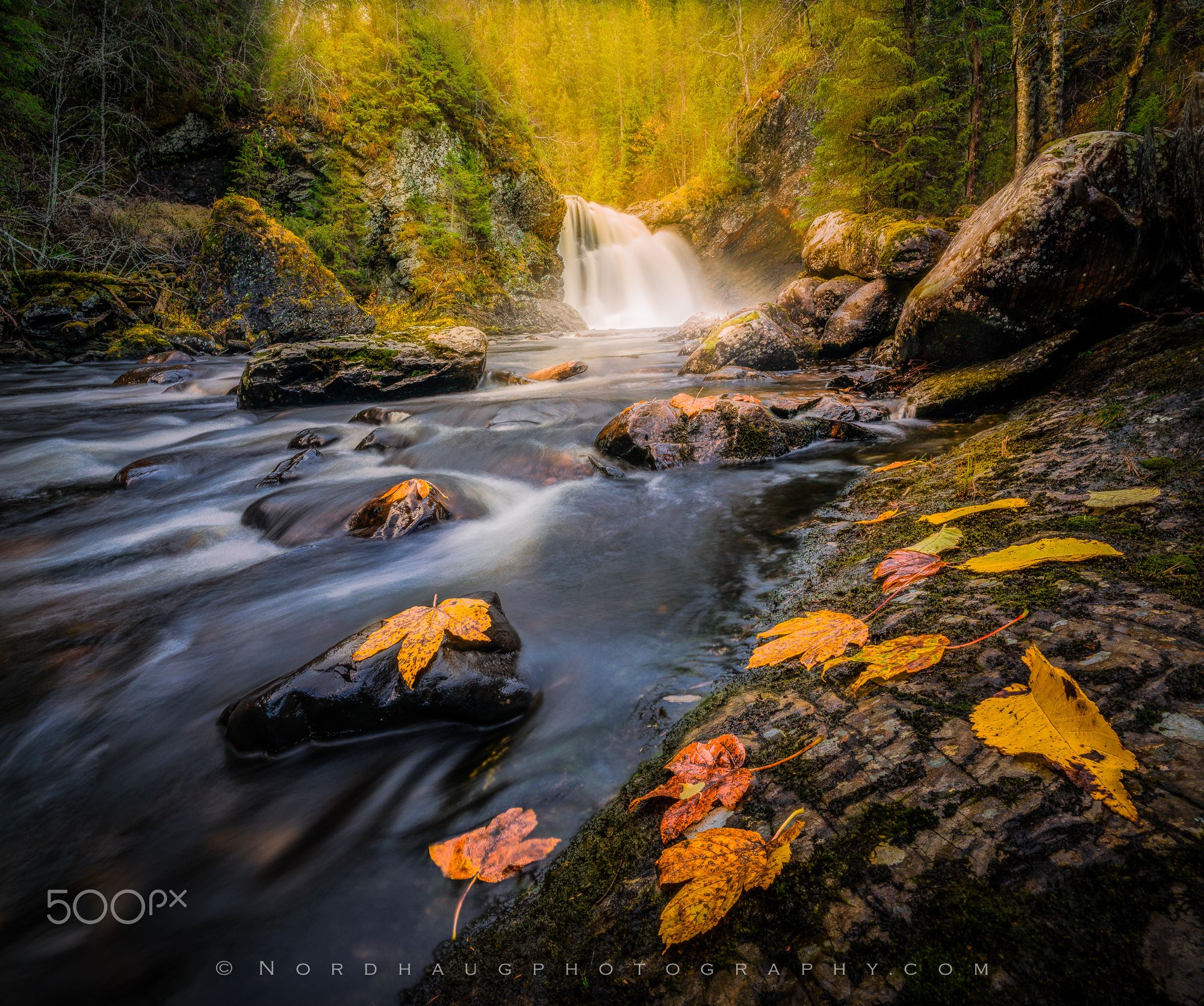 Dolafossen waterfall by Dag Ole Nordhaug - Photo 127574959 - 500px (Norway)