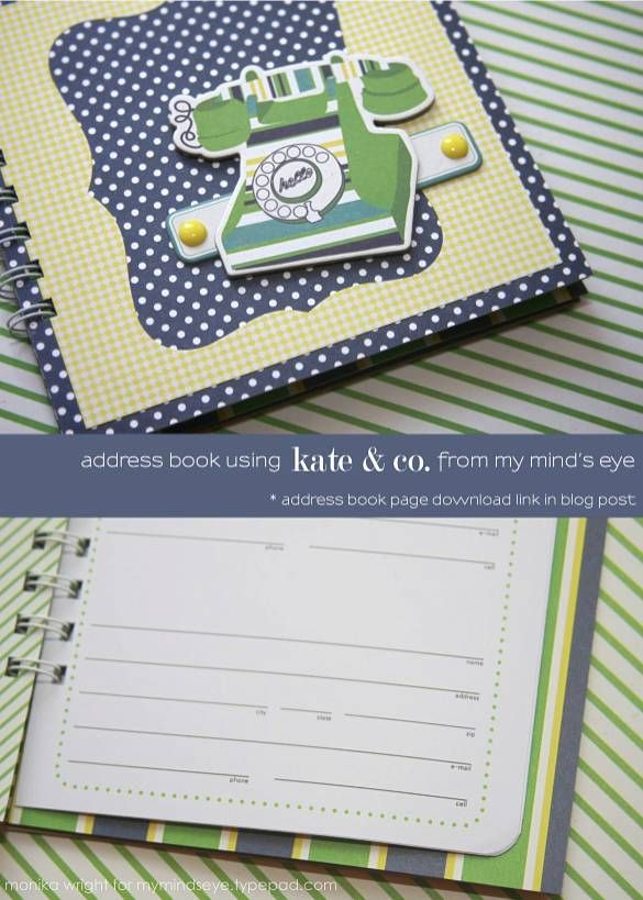 printable address book pages and diy tutorial with i love it all