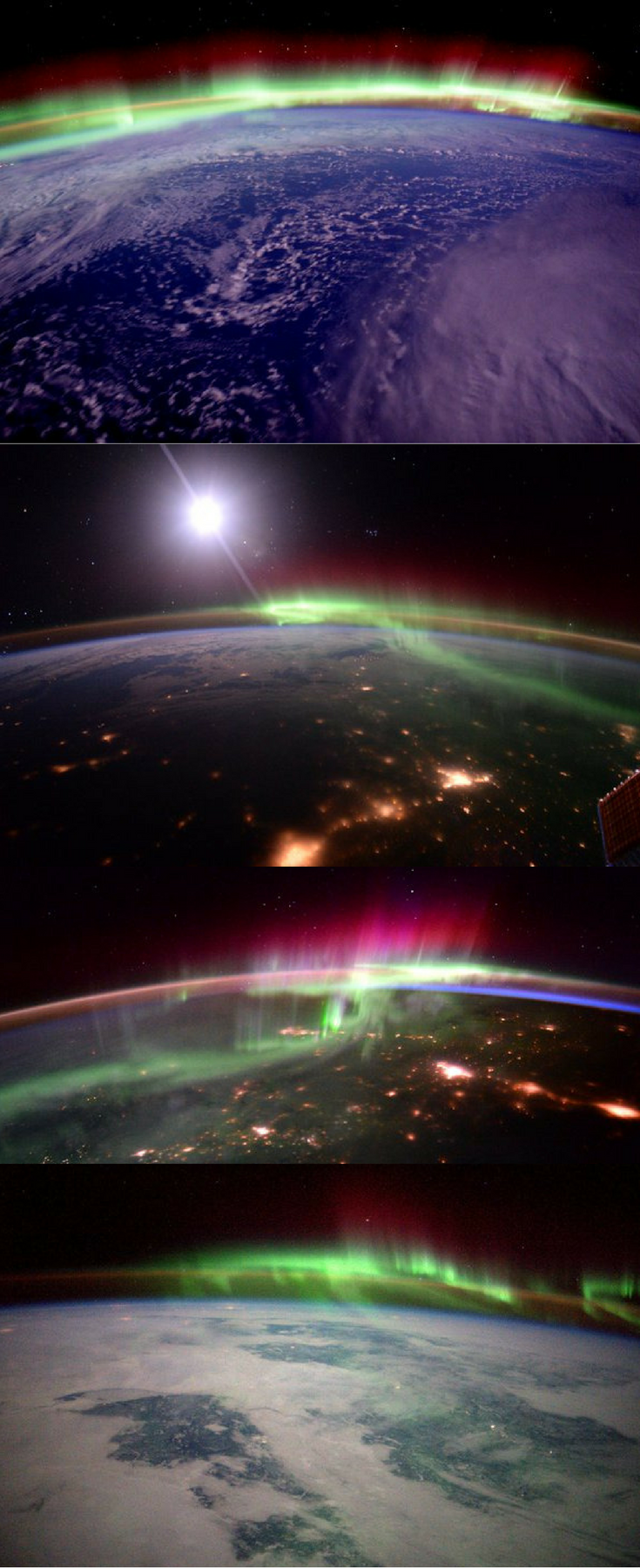 This Is What The Northern Lights Look Like From Space And