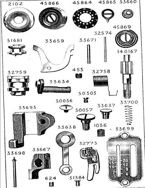 Singer 40 Sewing Machine Original Vintage Parts Vintage Sewing Unique Parts Of Old Sewing Machine