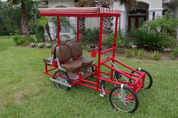 How To Build A Pedal Cart Pvc Tiny Travel Trailers View