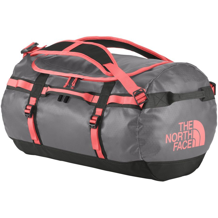 4025f16a73 The North Face Base Camp Duffel Bag - 2014-9154cu in Zinc Grey/Tropical  Coral