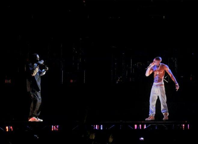 Pac and Snoop. ..Hologram