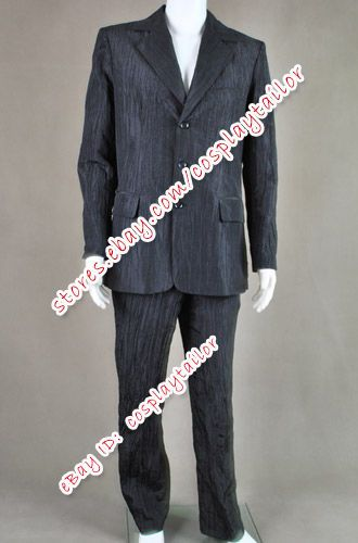 Dr. Who - The Silence Black Suit