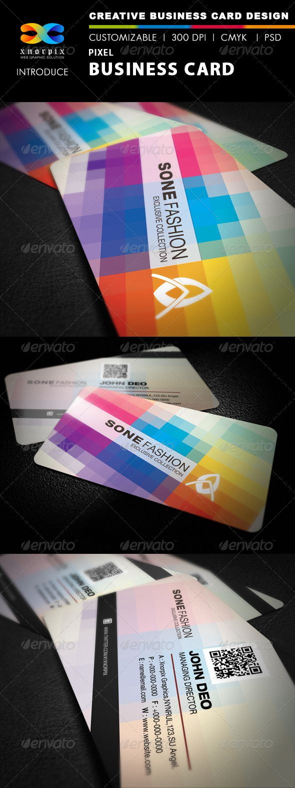 Pixel business card business cards template and psd templates pixel business card reheart Choice Image