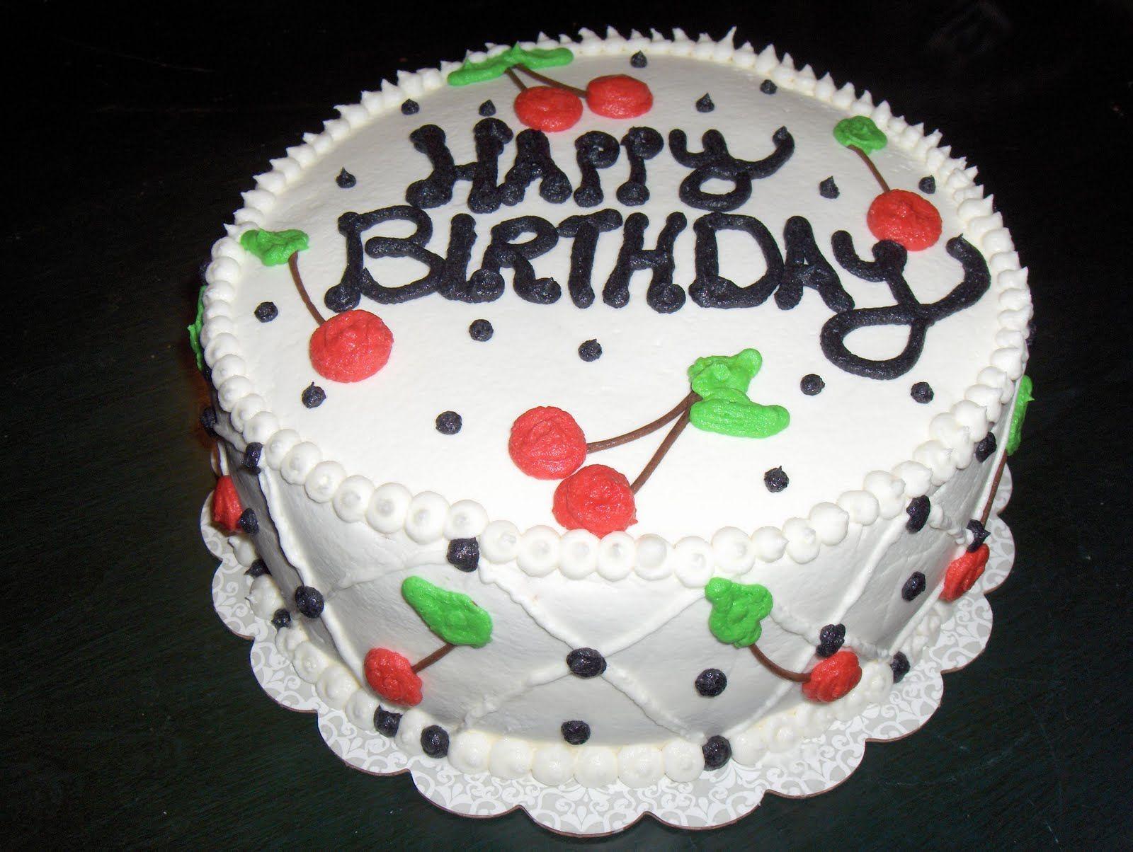 Cats Cake Creations Cherries Birthday Cake Let Them Eat cake