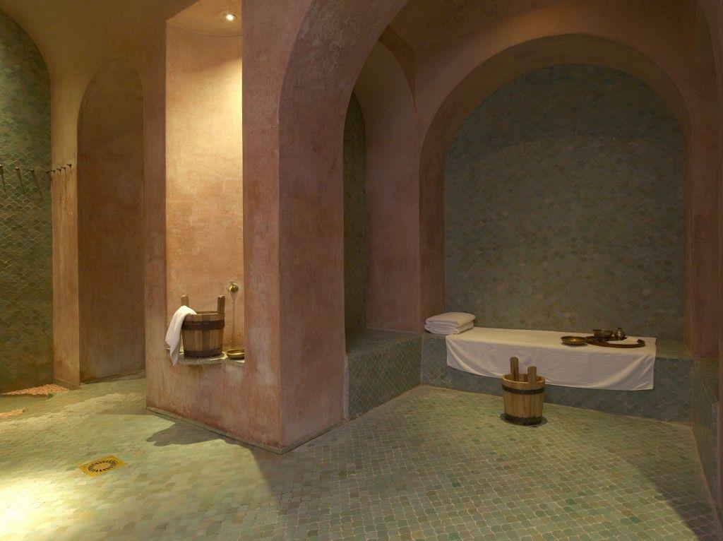 Risultati immagini per amanjena spa pink pinterest moroccan