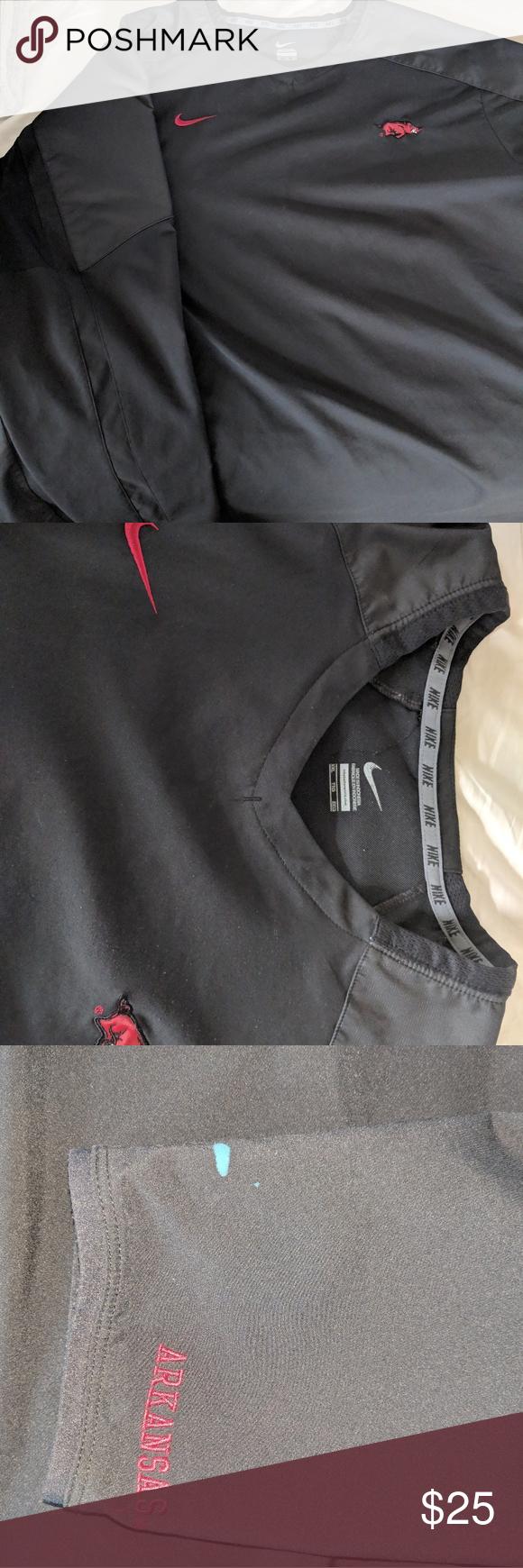 Nike Arkansas Razorback Pullover Nike Nike Shirts Sweatshirt Shirt [ 1740 x 580 Pixel ]