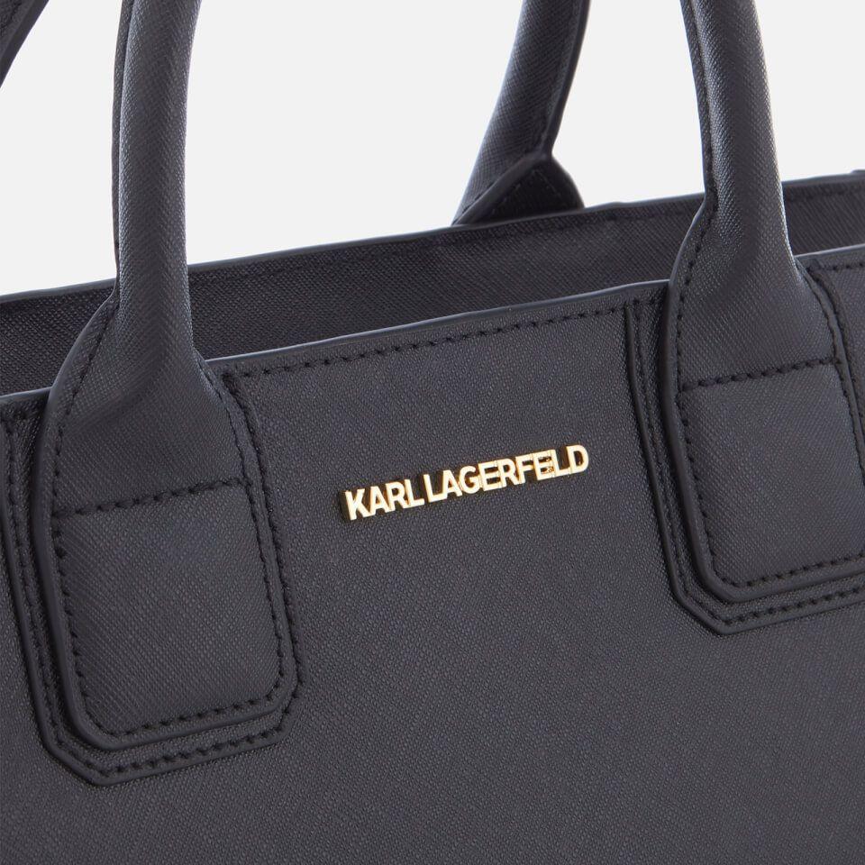 new high good looking sells Karl Lagerfeld Women's K/Klassik Tote Bag - Black/Gold | Black ...