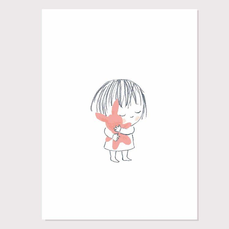 "Jane Massey ""bunny hug"" print"
