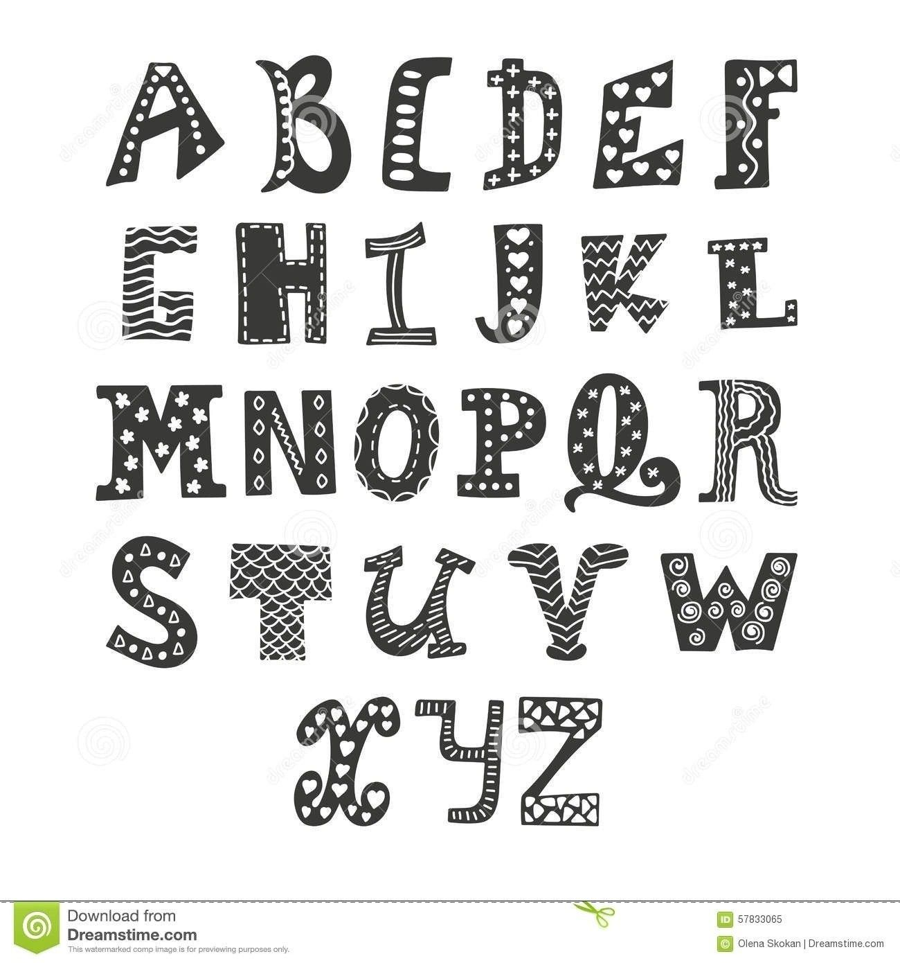Easy To Draw Letters Hand Lettering Mail Art Pinterest