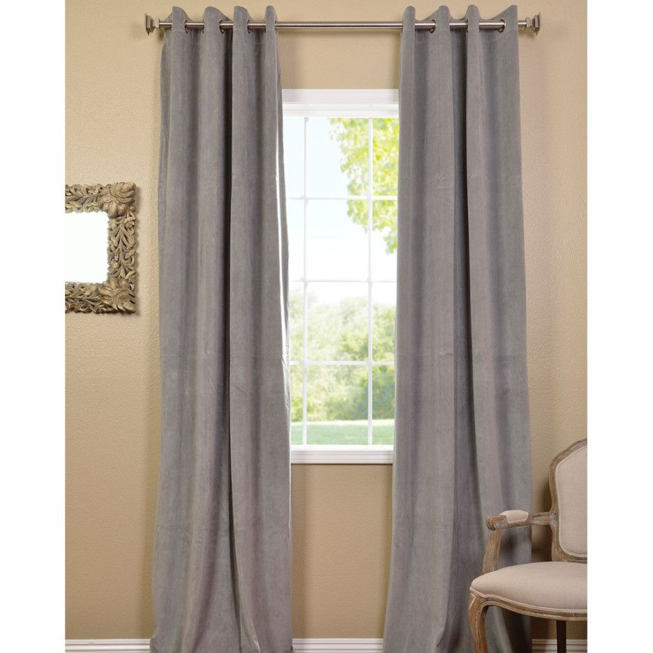 beige walls gray curtains designs and