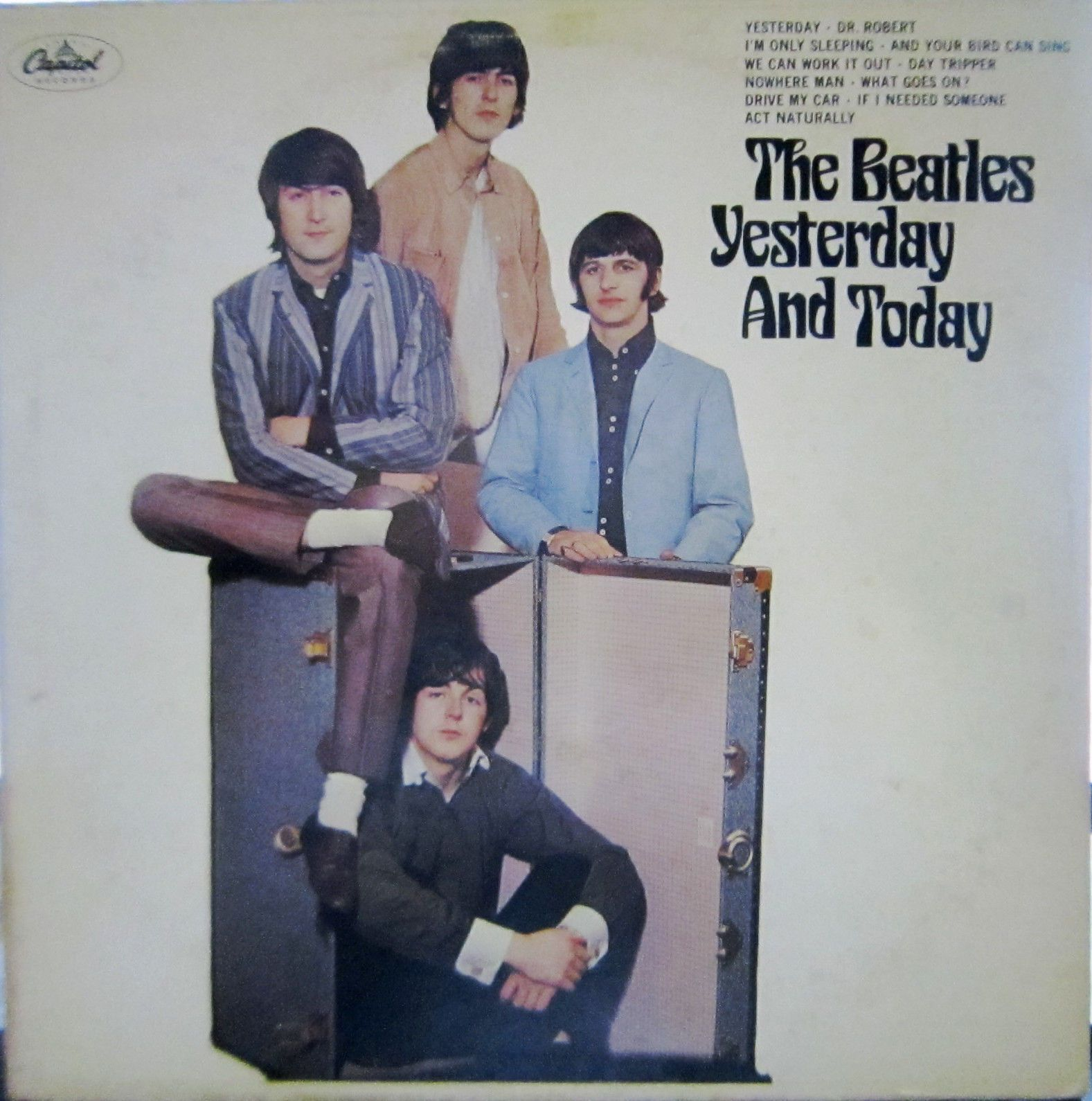 Beatles-Yesterday And Today-BUTCHER COVER-MONO-T2553-VERY NICE