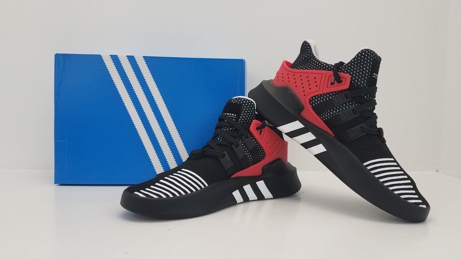 quality design 47d80 ddf3d Adidas ORIGINALS MEN'S EQT BASK ADV AQ1013 BLACK/WHITE/RED ...