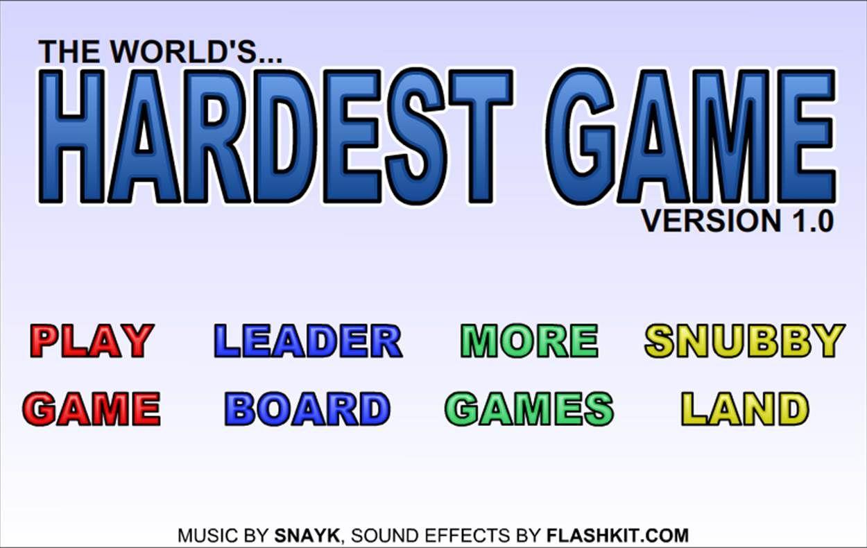 worlds hardest game music