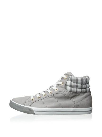 Burnetie Men's BB High Top Sneaker with Pattern at MYHABIT