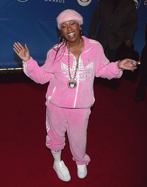3002bf3972d Missy Elliot looked like a bad stuffed toy--- halloween ideas