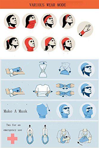 Headbands Painting Headwear Bandana Sweatband Gaiter Head Wrap Mask Neck Outdoor Scarf