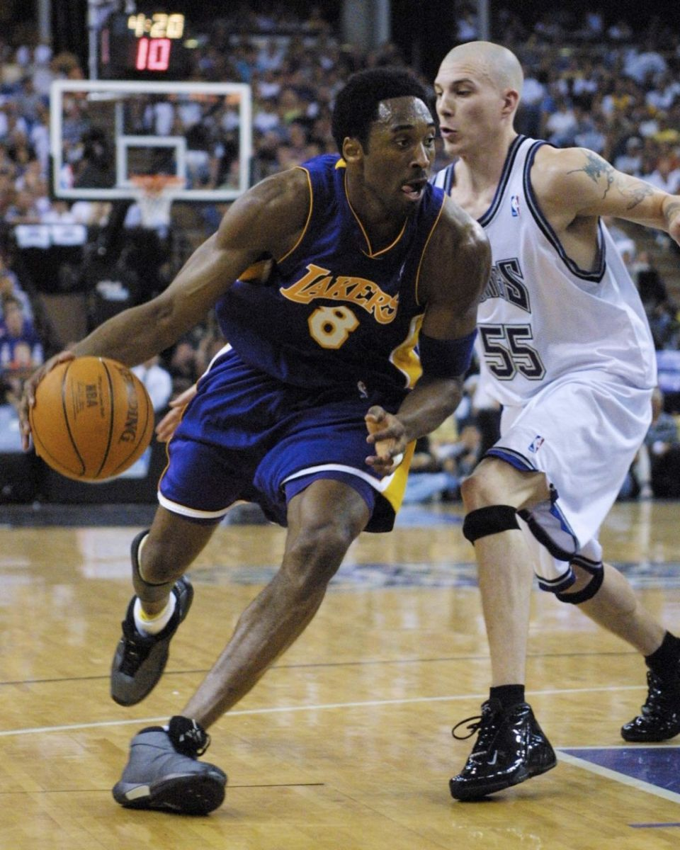 low priced 7d9fa bd1c4 Sole Watch Classic    Kobe Bryant Wearing The  Playoff  adidas The Kobe   Sole  Collector