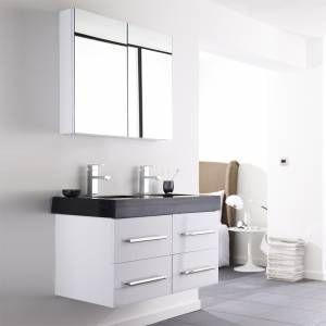 Hudson Reed Mobel Garnitur Legend Twin Diese Mobel Garnitur Beinhaltet Einen Doppelten Waschtisch Inklusive Zwe Spiegelschrank Badezimmer Badezimmer Schrank