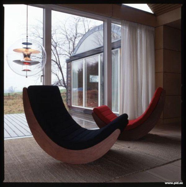 * wunderkammer *: Verner Panton rocking chair Relaxer for Rosenthal: Das Objekt der Woche //// El objeto de la semana /// The object of the week,