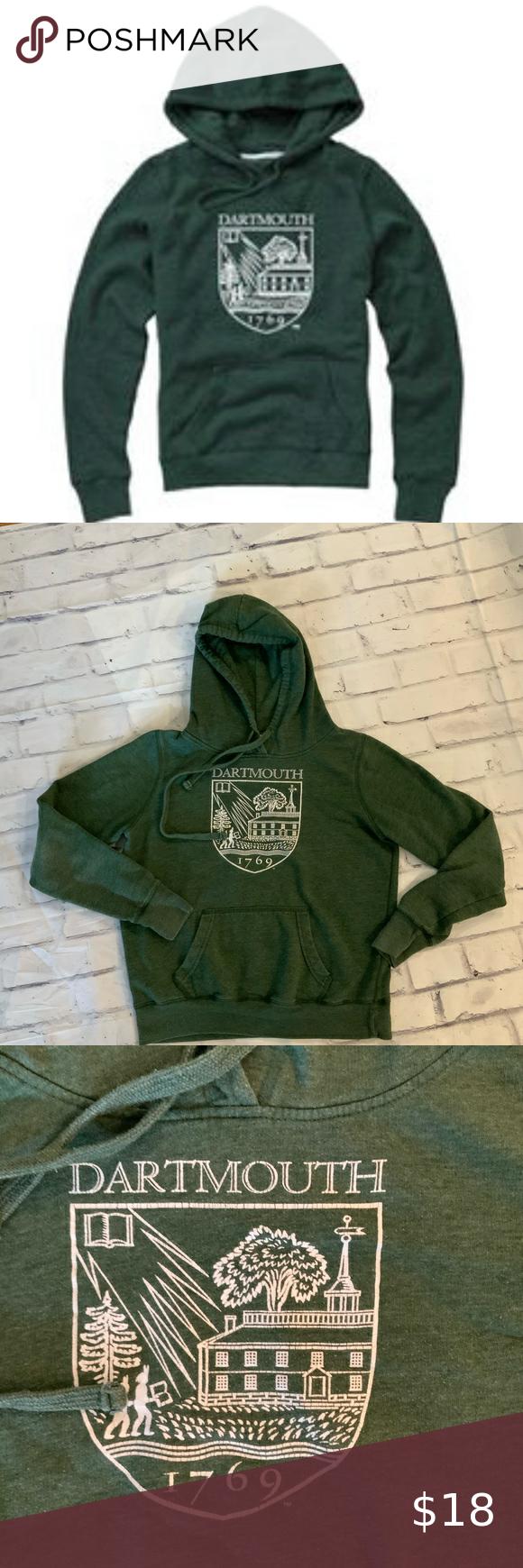 Dartmouth Green Hoodie In 2021 Green Hoodie Sweatshirt Tops Brushed Cotton Jacket [ 1740 x 580 Pixel ]
