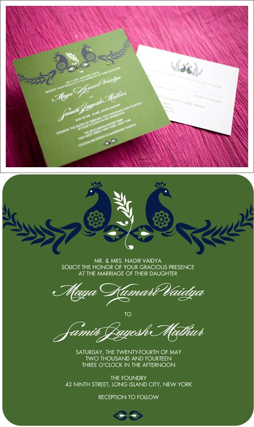 DIY-Peacock-Promise-Wedding-Invitation DIY Weddings, Invitations - best of invitation card wedding format
