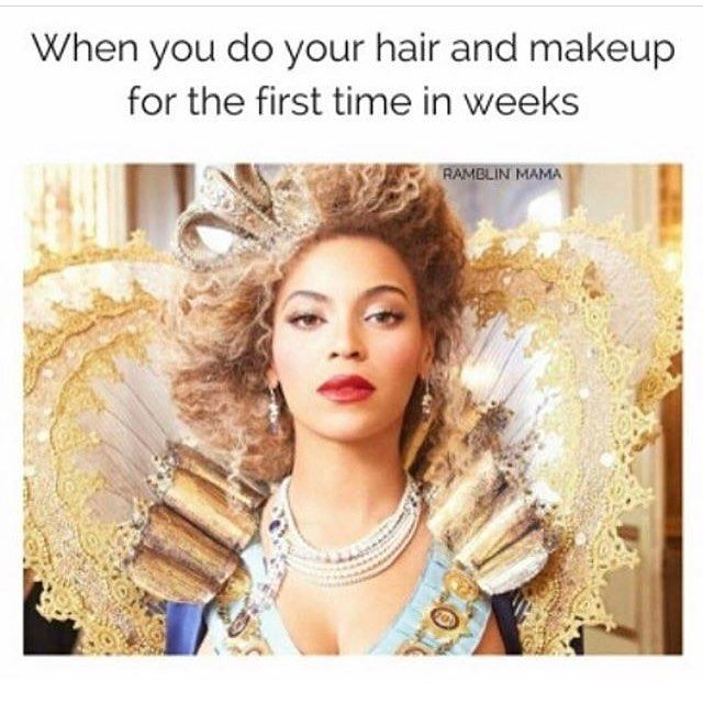And When You Have In Your Queen C Hair Extensions In It Feels Even