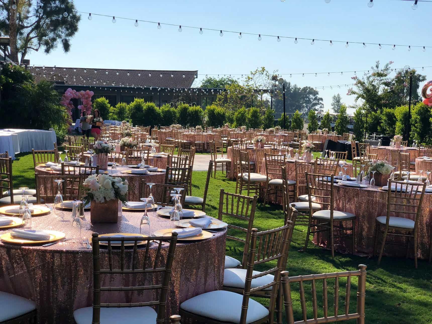 Weddings Diamond Bar Golf Club Southern California Outdoor ...