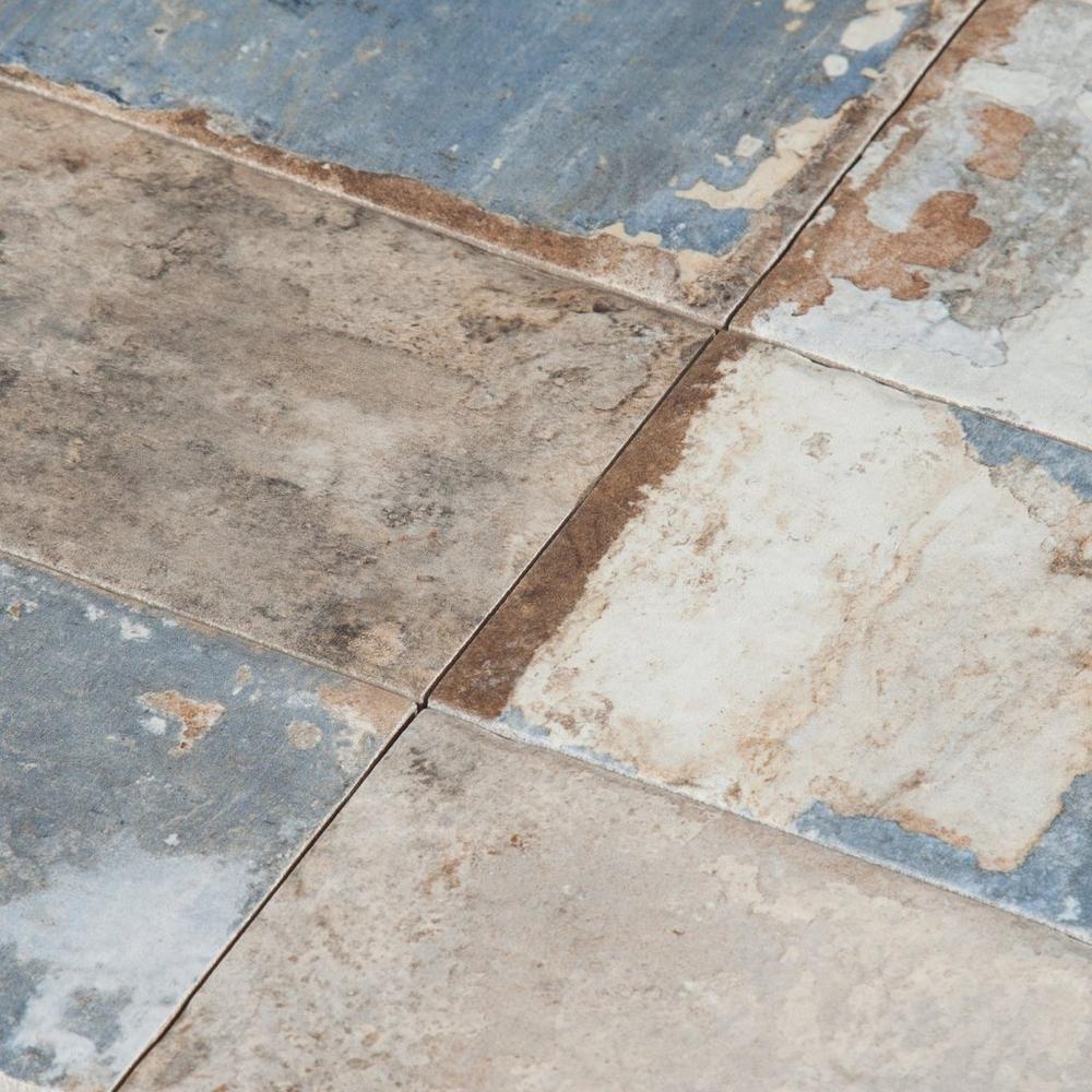 san juan azul porcelain tile - 4in. x 8in. - 100198829 | floor and