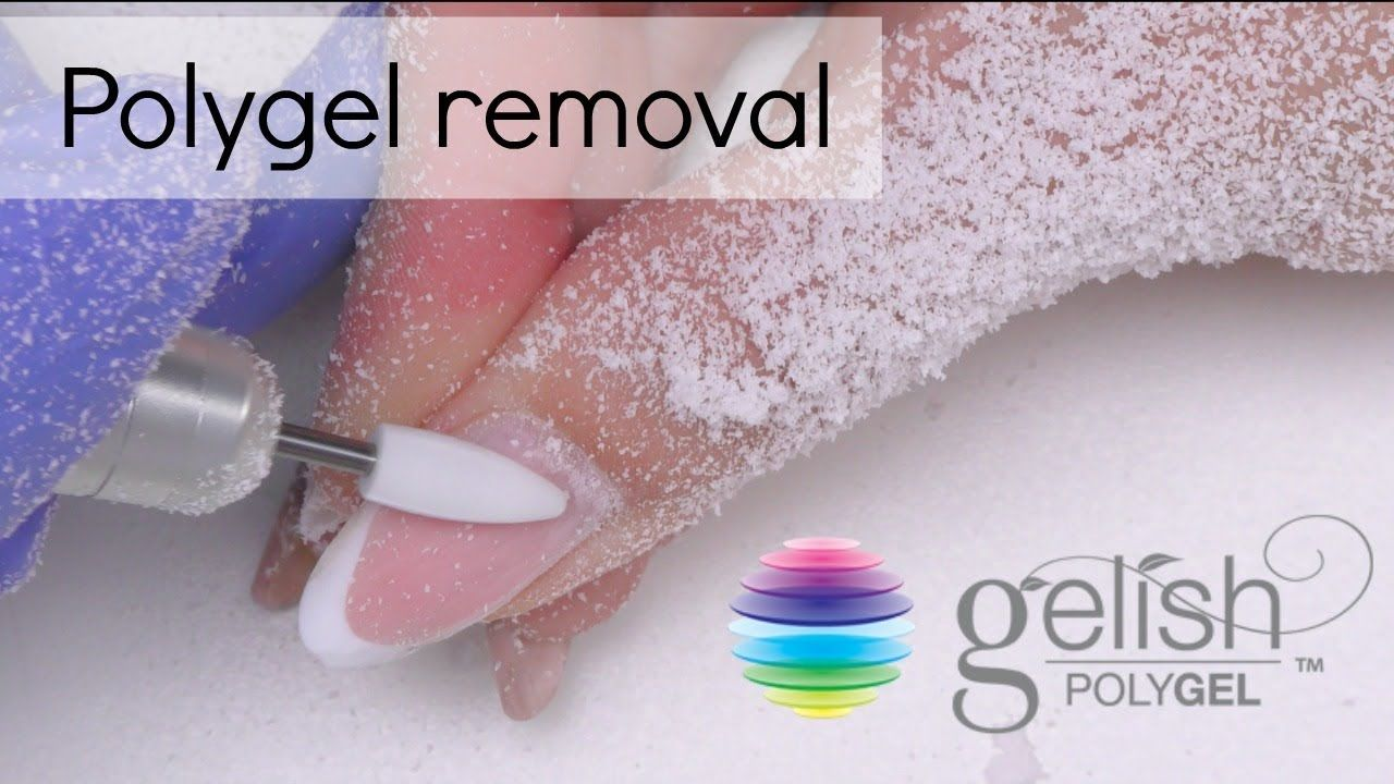 Polygel Removal How To Take Off Gel Nails Take Off Gel Nails Take Off Acrylic Nails Gel Nails
