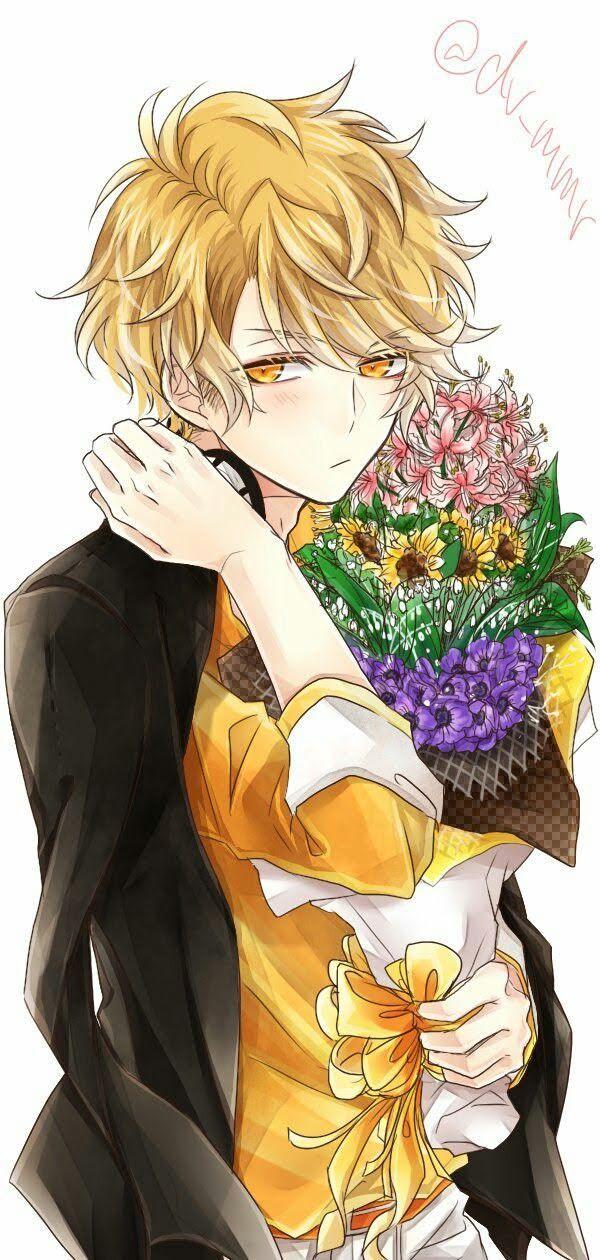 Pin by Khushi Kookie on Diabolik Lovers Blonde anime boy