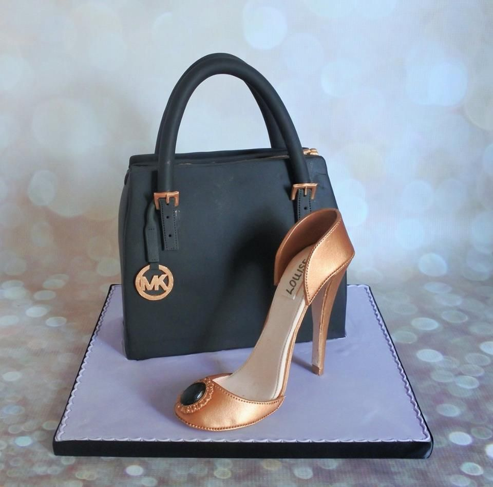 Michael Kors Shoe Box Cake