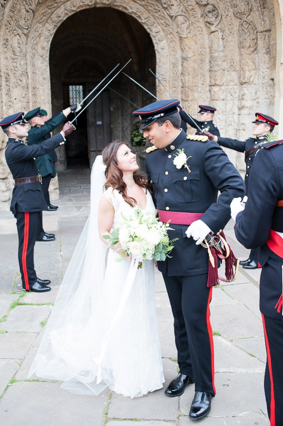 An Elegant Military Wedding For A British Army Officer And His Lady
