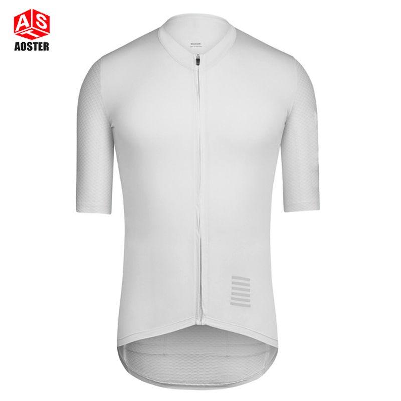 2017 NEW Fabric climber top full white PRO TEAM CYCLING JERSEY SHORT SLEEVE  Climber cycling gear 1b8e3f6c2