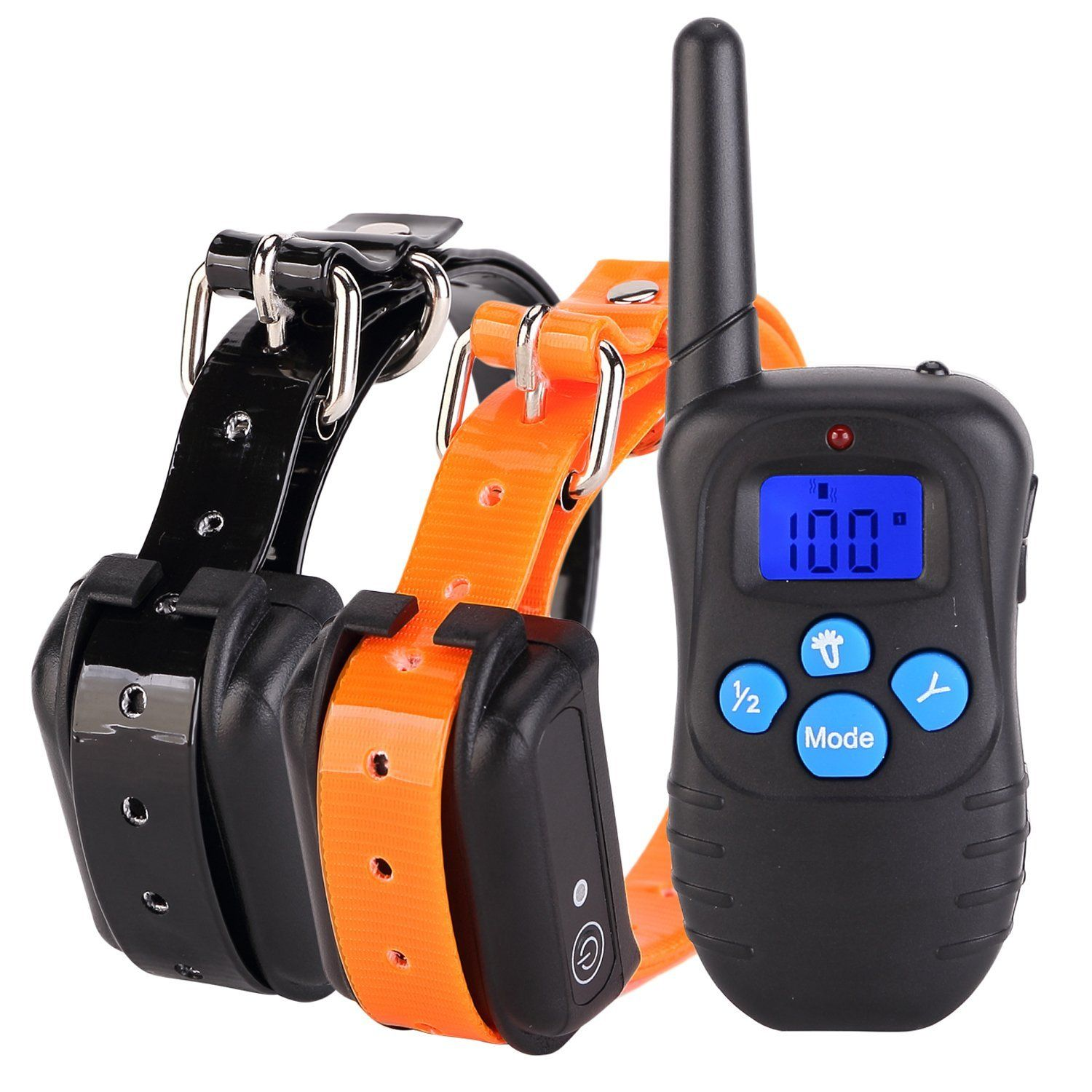 Cataz Electric Dog Training Collar With Remote Rechargeable And
