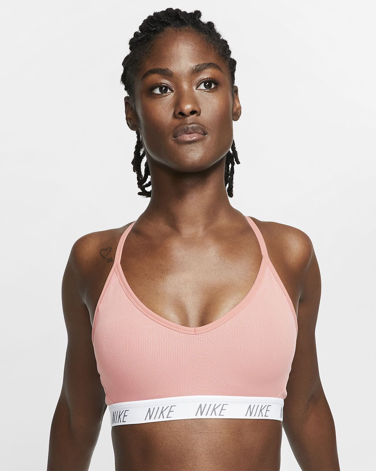 Nike Indy Women S Light Support Yoga Sports Bra Nike Com Yoga Sports Bra Sports Bra Bra