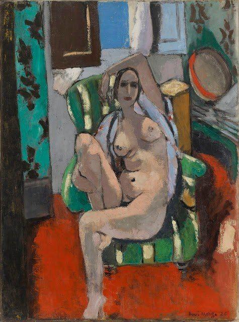 Green Chair Henri Matisse