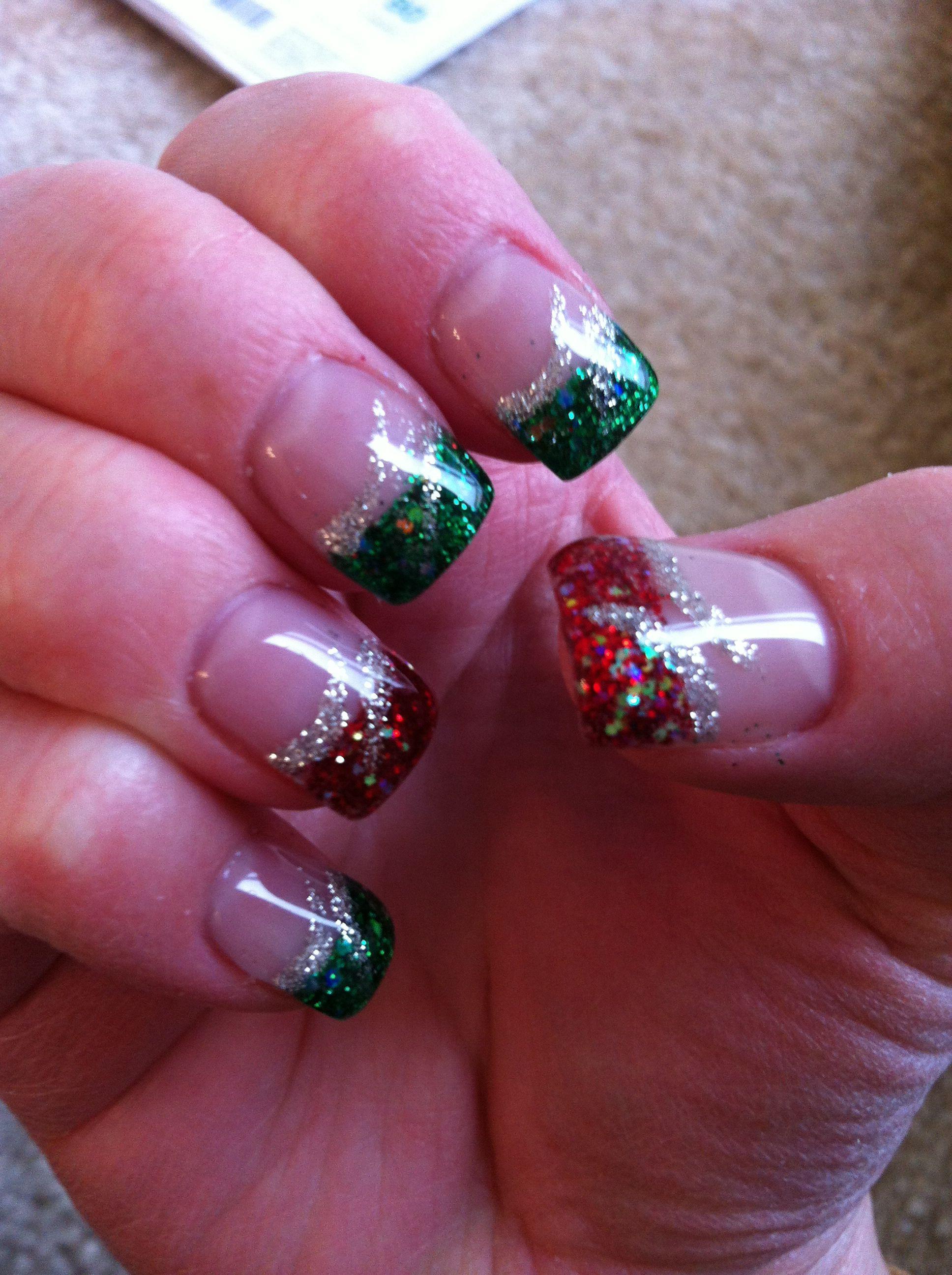 Christmas Nails 1 2013 Christmas Nail Art Designs Christmas Nails Xmas Nails