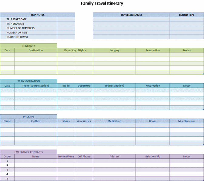 microsoft spreadsheet template