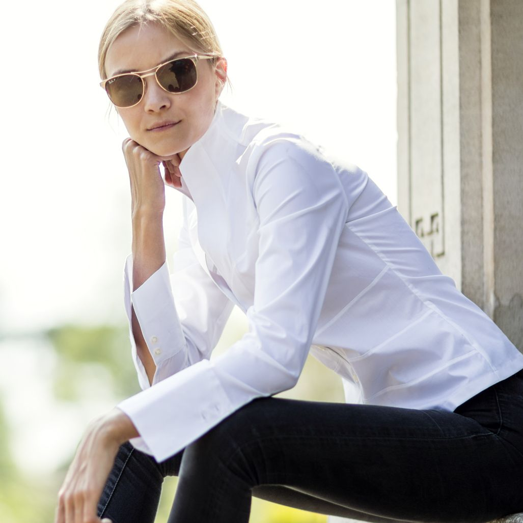 Choose The Perfect White Shirt Made For Town To Country Style The