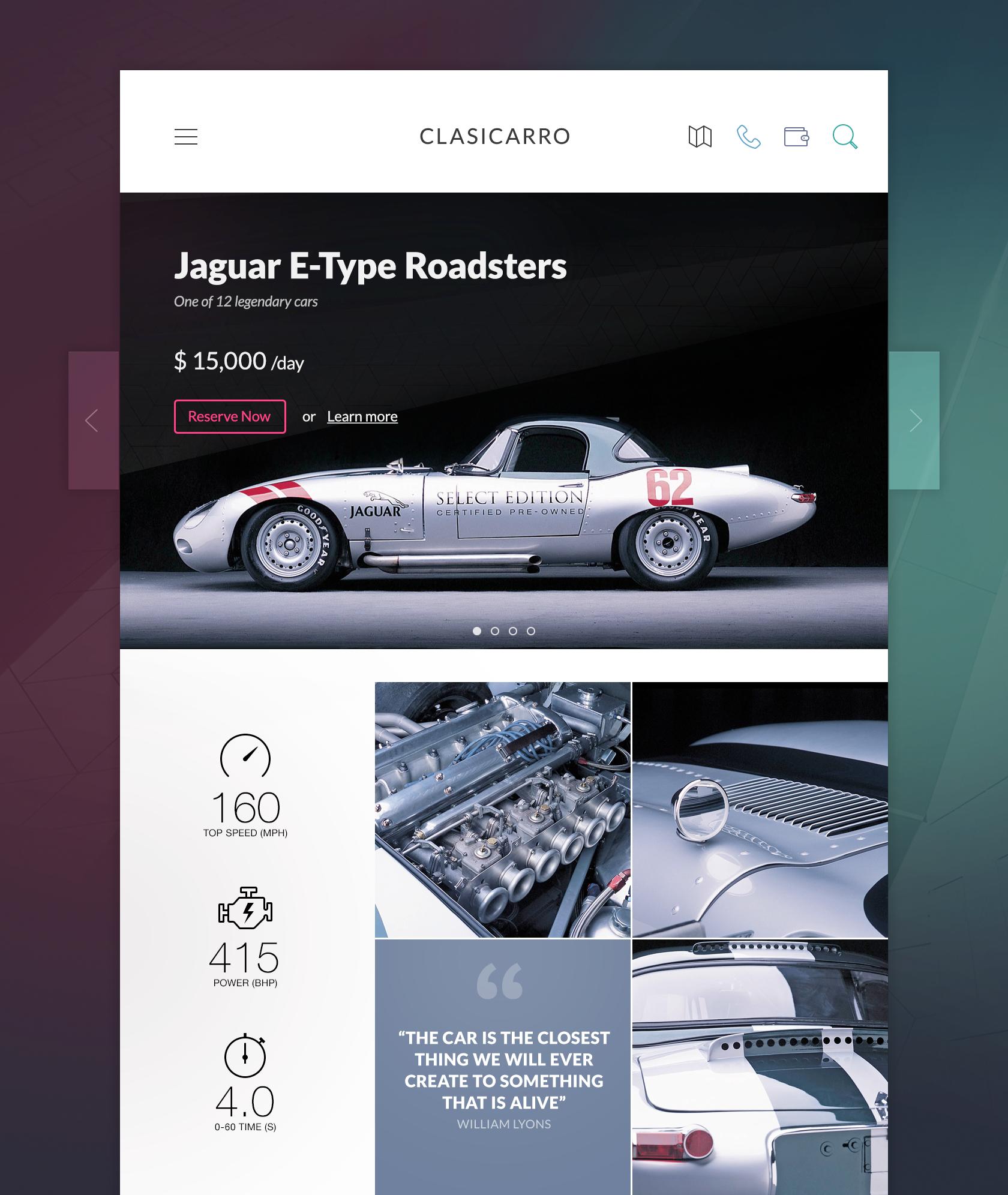 Dribbble social app ui design jpg by ramotion - Car Rental Service