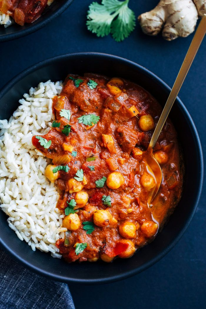 One-Pot Chickpea Tikka Masala - Making Thyme for H