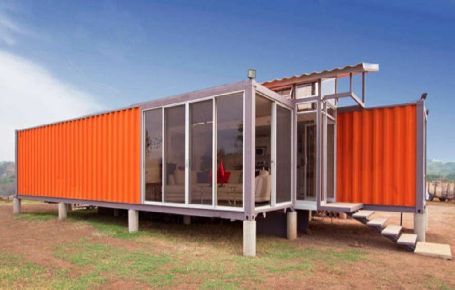 Shipping Container House Plans By Benjamin Garcia Saxe