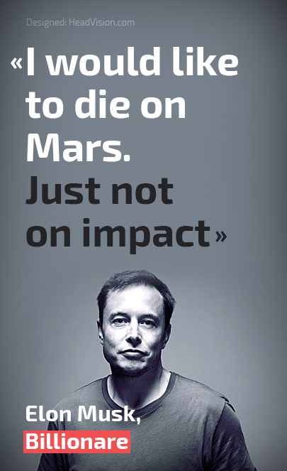 i would like to die on mars just not on impact elonmusk tesla
