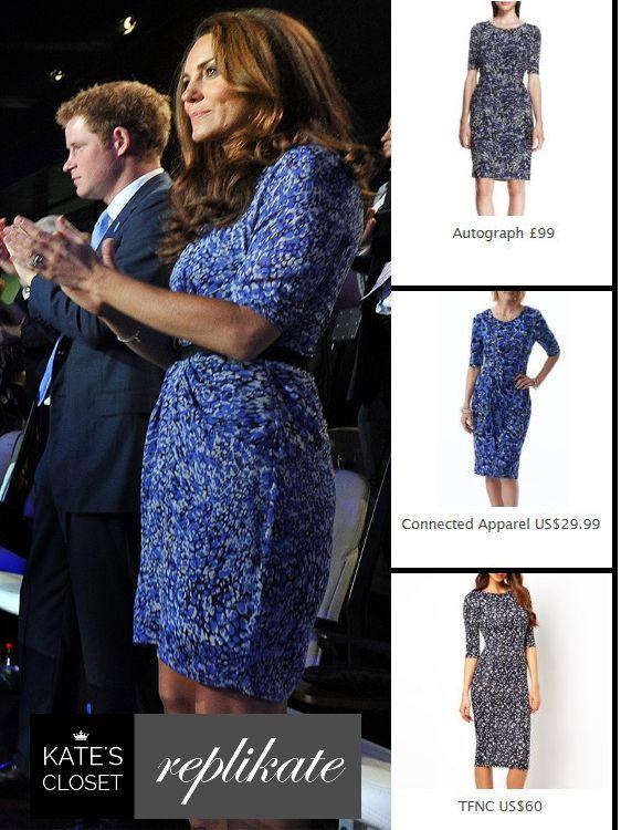 c770a94786 Kate Middleton Style. Whistles  Bella  dress repliKates